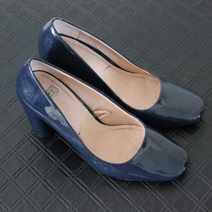 Zara Navy Blue Trafaluc Heels